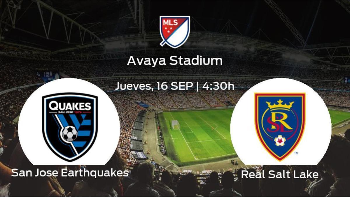 Previa del partido: el San Jose Earthquakes recibe al Real Salt Lake