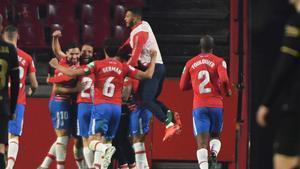 Las cantadas de Umtiti en los goles del Granada