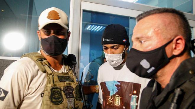 Gabigol fue detenido en fiesta en casino clandestino en Brasil