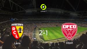 Triunfo del Racing de Lens frente al Dijon FCO (2-1)