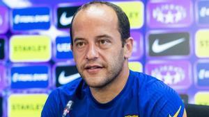 Lluís Cortés: Sería una alegría muy grande para todos los culés que el Barça femenino se proclamase campeón