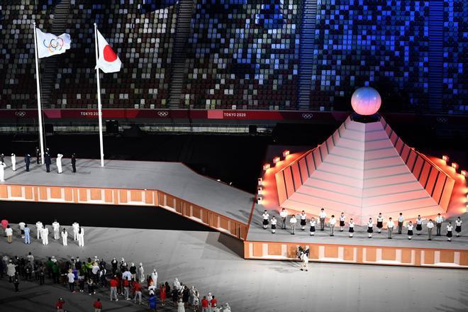 Las mejores imágenes de la apertura de los Juegos Olímpicos de Tokio 2020 sport.es