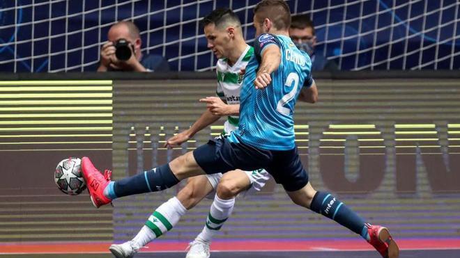 Inter cayó por 2-5 ante un gran Sporting