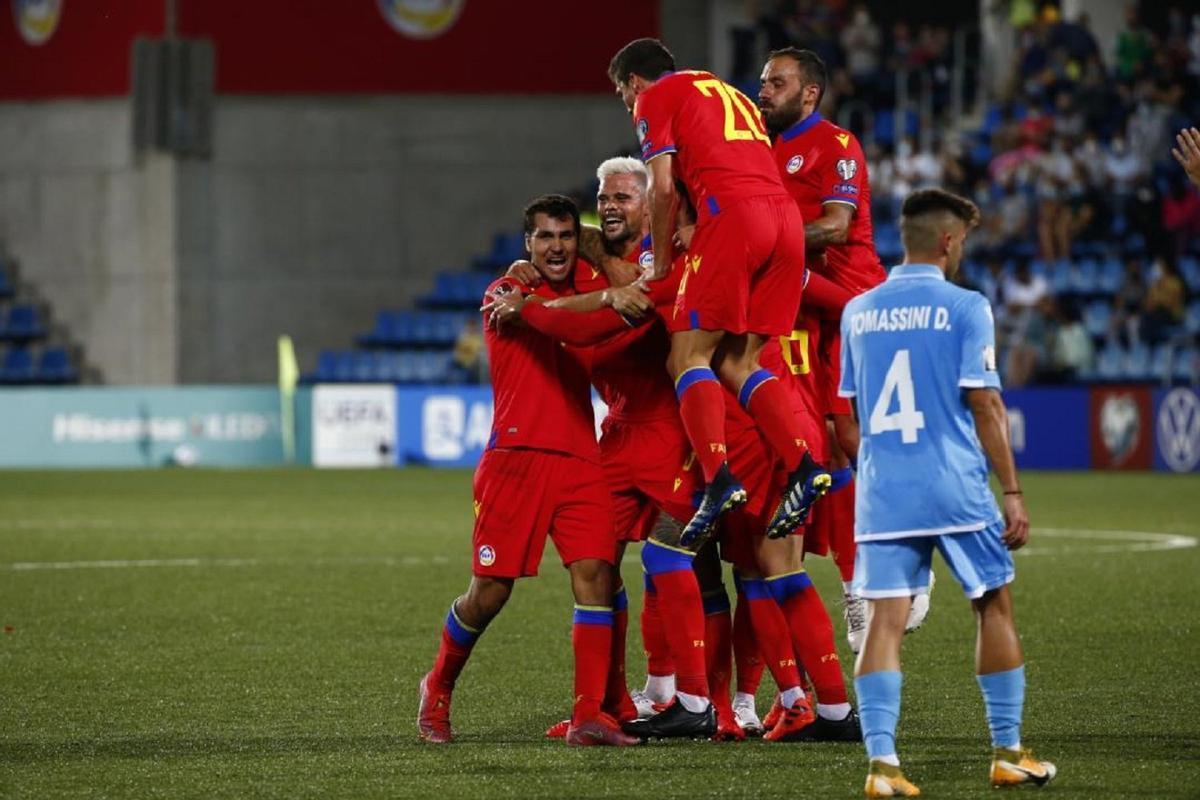 Andorra, una victoria histórico frente a San Marino