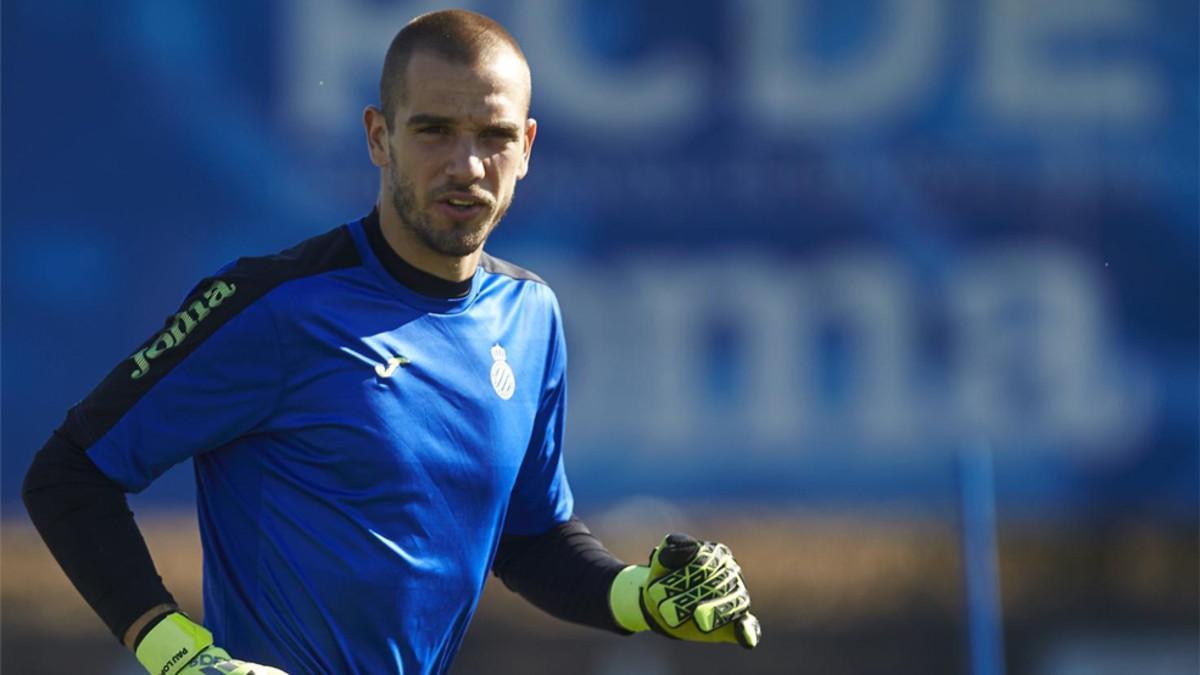 Pau López se reincorporará a la disciplina del Espanyol