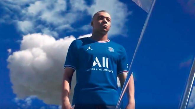 Mbappé, protagonista del vídeo de presentación de la nueva camiseta del PSG