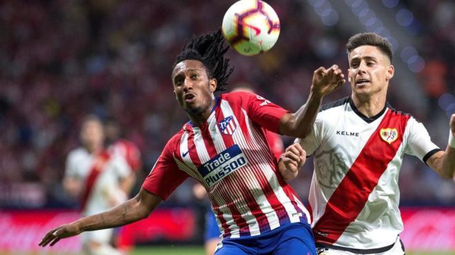 Gelson Martrins, en su breve etapa en el Atlético