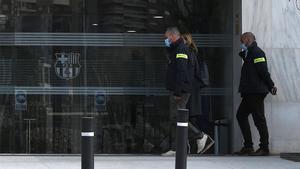 Los Mossos registraron las oficinas del Barça por el BarçaGate