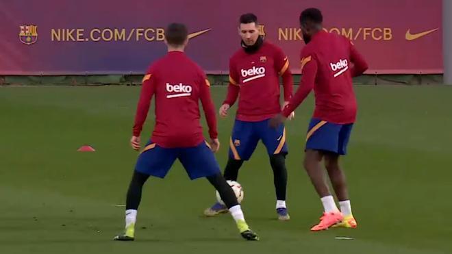 El Barça, a punto para Valladolid