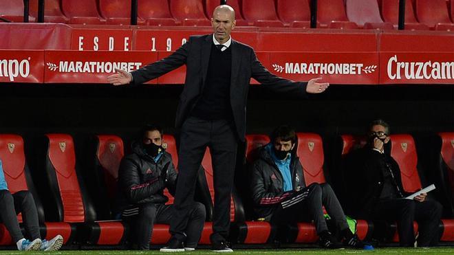 Zidane vive su segunda etapa en el banquillo del Real Madrid