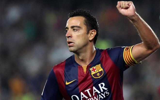 Xavi, un jugador de leyenda con unos números espectaculares