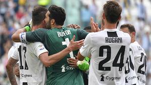 Así fue el último partido de Buffon con la Juventus