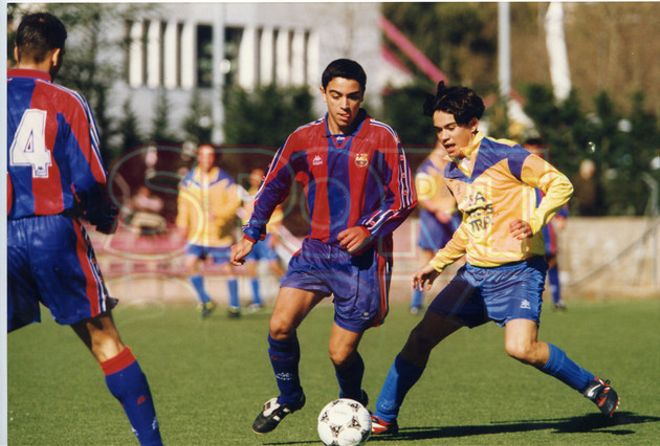 4.Xavi Hernández 1996-97