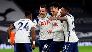 El Tottenham de Mourinho ha sumado puntos en nueve de diez partidos disputados por liga esta temporada