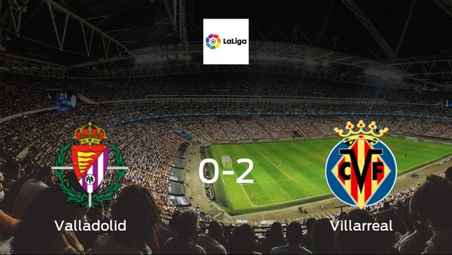 Villarreal beat Real Valladolid 2-0 at José Zorrilla