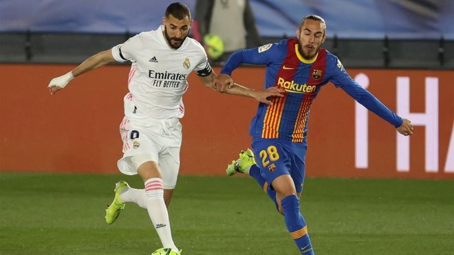 Benzema ha sido el autor del primer gol del clásico
