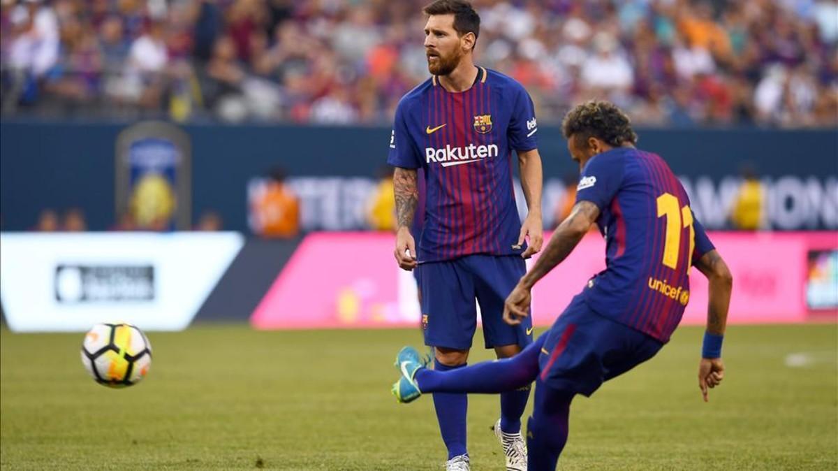 Messi lo dio todo para que Neymar brillara ante la Juventus