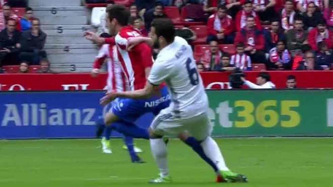 Nacho, futbolista del Real Madrid