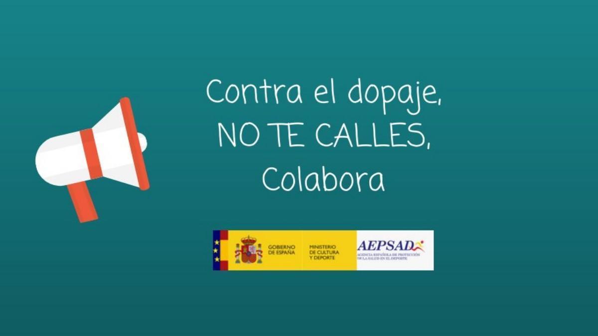 Campaña contra el dopaje de la Agencia Española de Protección de la Salud en el Deporte