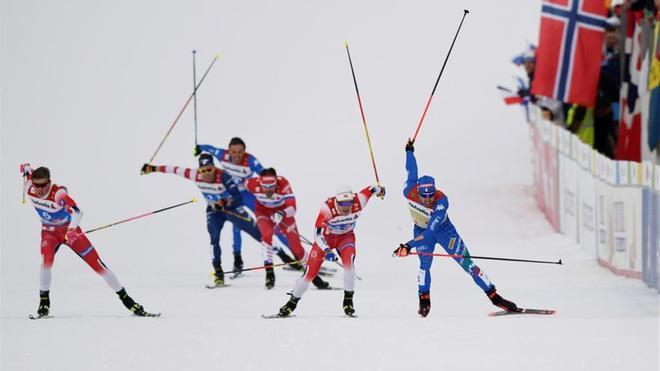 Gran operación policial contra el dopaje en el Mundial de Esquí nórdico