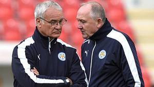 Walsh, halbando con Claudio Ranieri