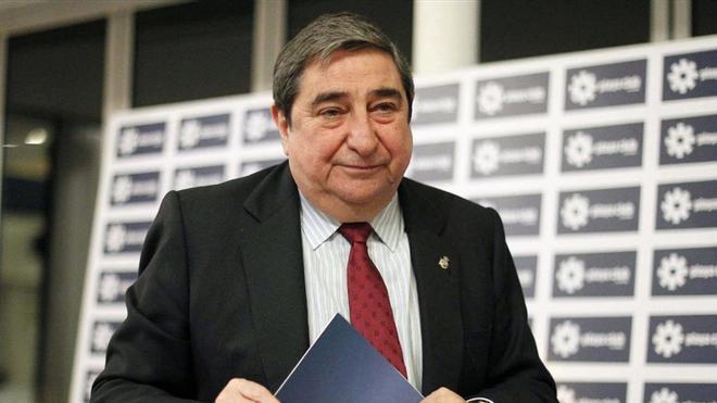 Augusto César Lendoiro, expresidente del Deportivo