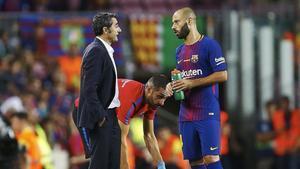 Mascherano sigue sin contar con la confianza de Valverde