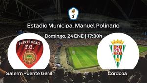Previa del partido: el Salerm Puente Genil recibe al Córdoba B en la decimotercera jornada