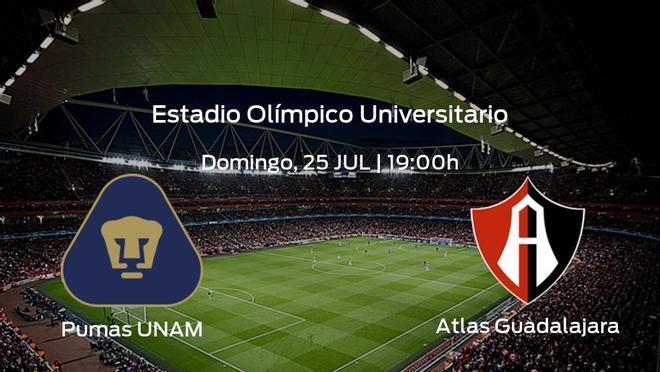 Previa del partido: el Pumas UNAM y el Atlas Guadalajara se enfrentan en su primer choque en la Liga MX de Apertura