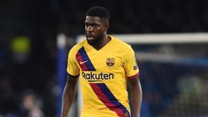 Los clubes de la Premier League están pendientes del futuro de Samuel Umtiti