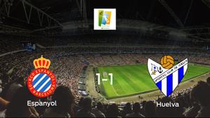 El Espanyol Femenino y el Sporting de Huelva Femenino empatan a uno en el Ciudad Deportiva Dani Jarque