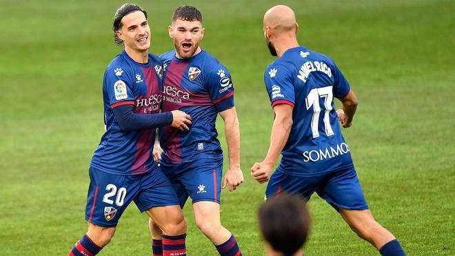 El Huesca, a salir del descenso