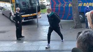El Barça llega a Madrid para jugar con el Rayo