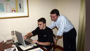 Alonso con Campos, en una imagen de archivo
