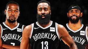 Harden, Durant e Irving, el nuevo trío de moda en la NBA