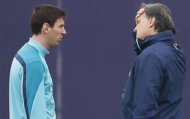 Martino confía en hacer campeona a Argentina gracias al potencial de su líder, Leo Messi