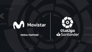 Movistar, media partner de la eLaLiga Santander, por segundo año consecutivo