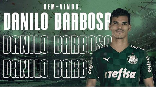 Danilo Barbosa llega al Palmeiras para ser un nombre importante
