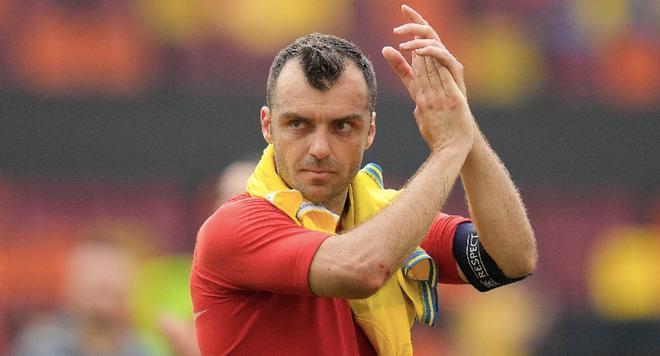Pandev tras el partido contra Ucrania