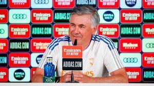 Ancelotti no se alegra del mal momento del Barça