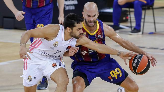 Barça y Madrid se ven las caras en el Palau
