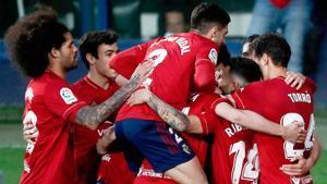 Osasuna se lleva la victoria ante el Valencia