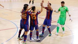 El Barça reaccionó dos veces en la primera parte