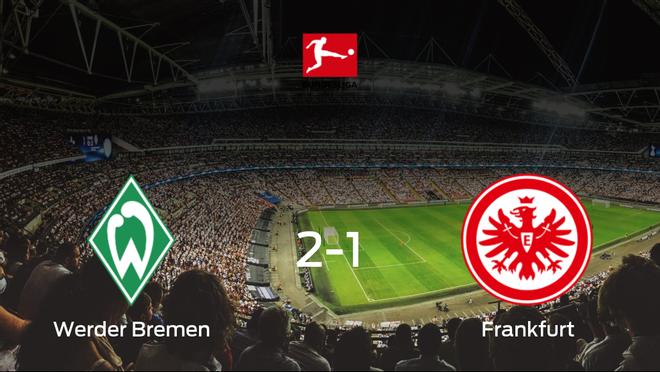 El Werder Bremen vence 2-1 frente al Eintracht Frankfurt