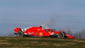 El Ferrari de 2018, pilotado por Sainz