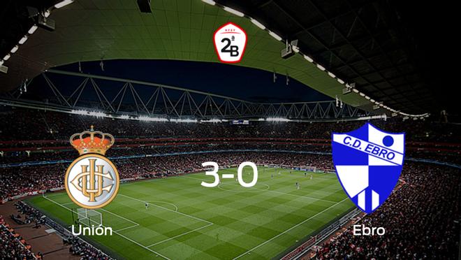 El Real Unión de Irún muestra su poderío tras golear al Ebro (3-0)