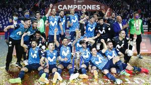 Movistar Inter, merecido campeón de la Copa de España