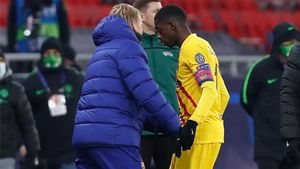 Koeman no podrá contar con Dembélé los próximos partidos