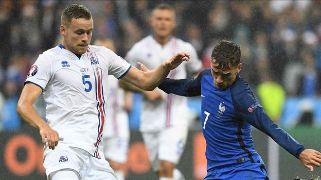 Ingason disputó la pasada Eurocopa de Francia.