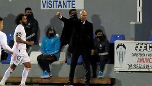 La Copa, competición maldita de Zinedine Zidane